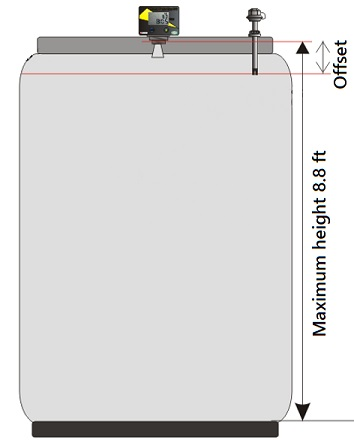 LC-Tank-Schema installation