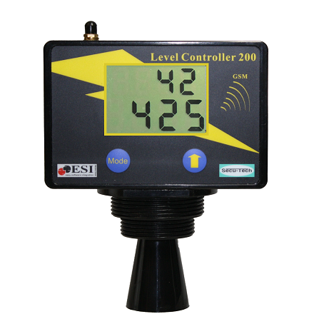 LC-200 Ultrasonic Tank Monitor Gauge