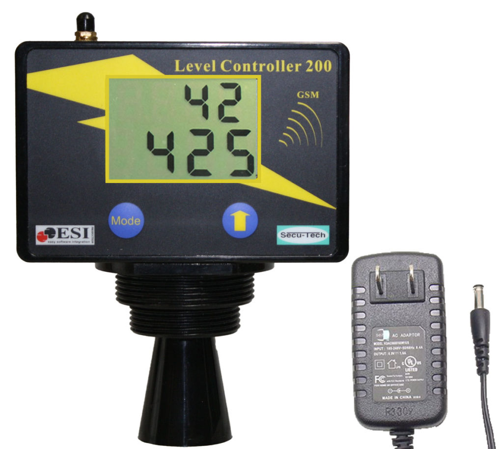 Tank Level Monitor Gauge LC-201 with text messaging