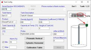 Remote Tank Level Monitor Secu-Data-L