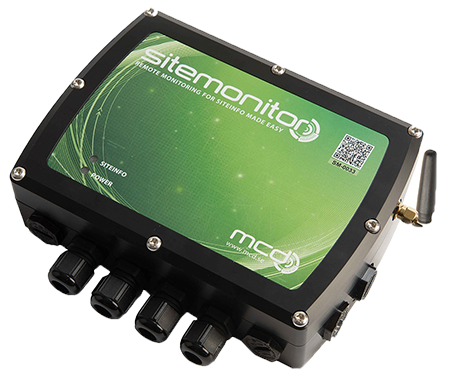 Sitemonitor Tank-Monitor for multiple probes and connection to LAN or GPRS
